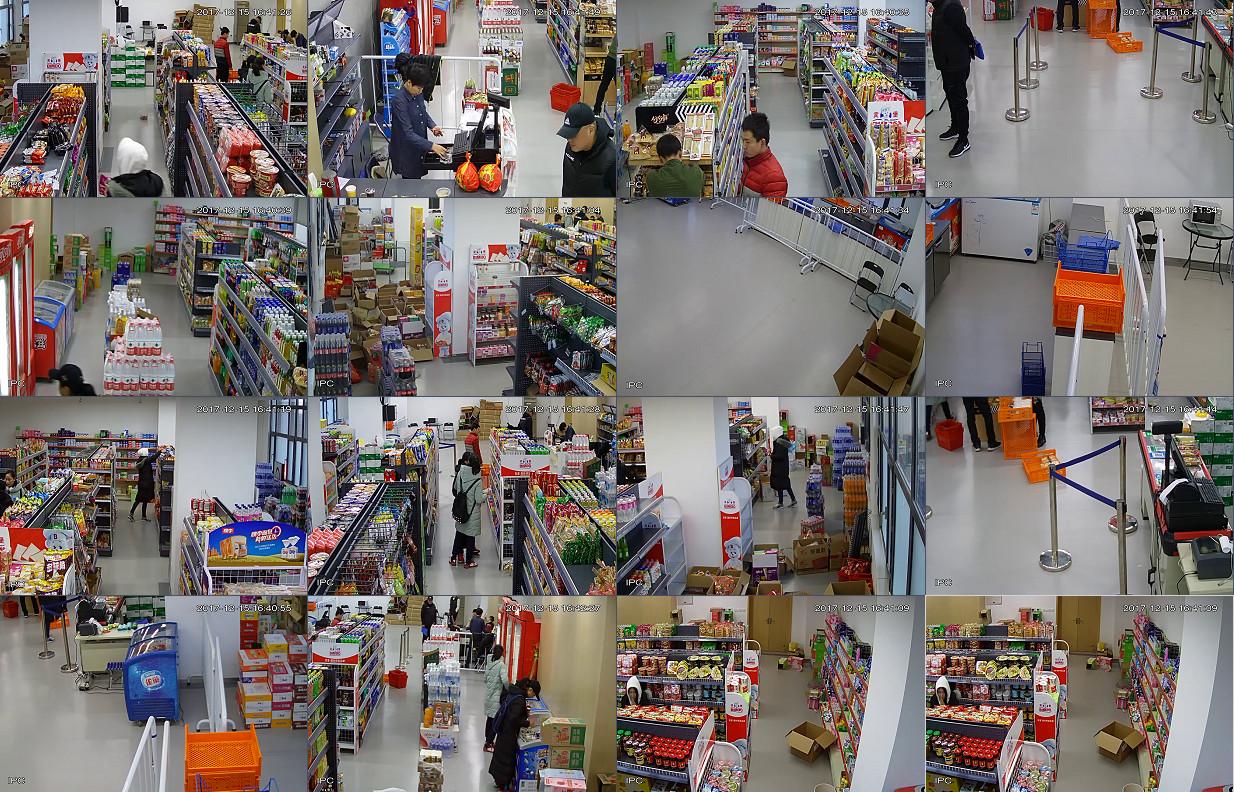 苏州工业园区超市监控安装展示