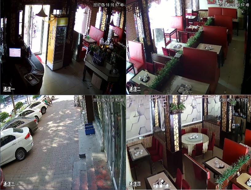 苏州市相城区饭店监控安装展示