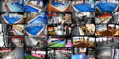 苏州市相城区健身房监控安装展示