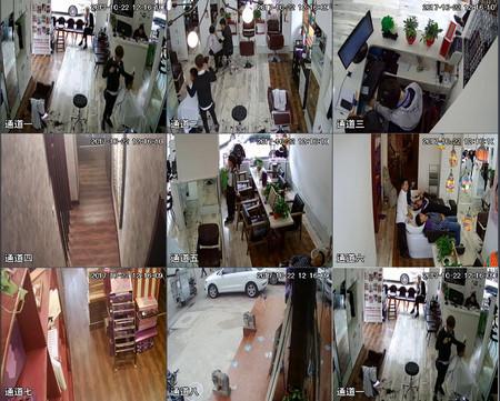 苏州市相城区理发店监控安装展示